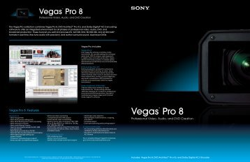 Vegas™ Pro 8 - A Soft 1
