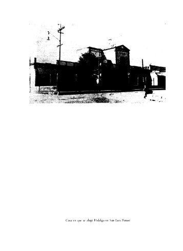 Casa en que se alojó Hidalgo en San Luis Potosí - Frente de ...