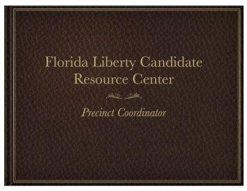 Precinct Coordinator