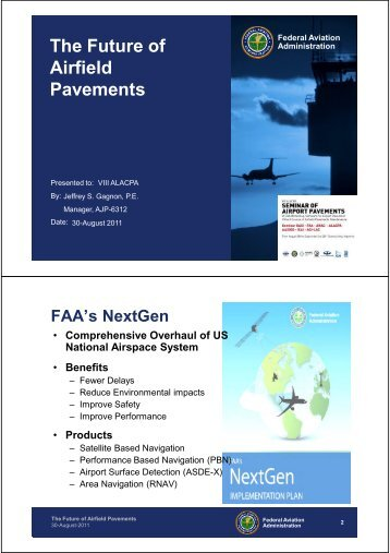 The Future of Airfield Pavements - alacpa