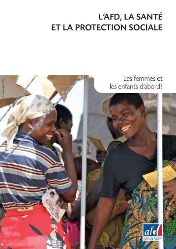 l'afd, la santé et la protection sociale - Agence Française de ...