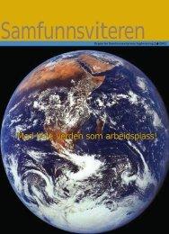 Samfunnsviteren nr 2 2003 - Samfunnsviterne