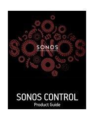 Product Guide SONOS CONTROL - Almando