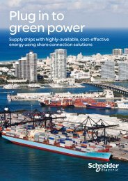 Plug in to green power - Schneider Electric