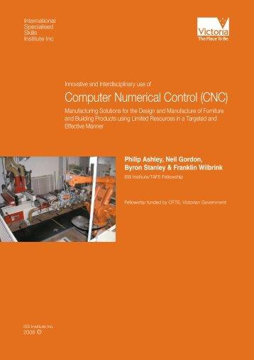 Computer Numerical Control - International Specialised Skills Institute