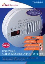 Hard Wired Carbon Monoxide Alarms For Homes - Safelincs