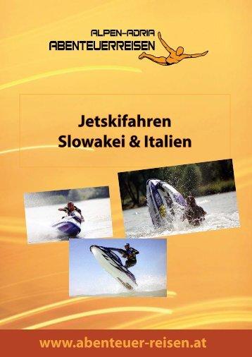 Jetskifahren Slowakei & Italien - Abenteuer Reise in Österreich