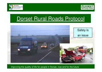 Rural Roads presentation PART2 1.51 Mb - the Dorset AONB