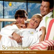 Sommerprospekt 2012 - Schlosshotel Fiss