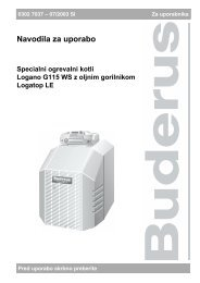 Navodila G115 WS - Buderus