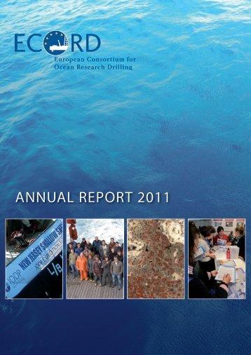 annual report 2011 - European Consortium for Ocean Research ...