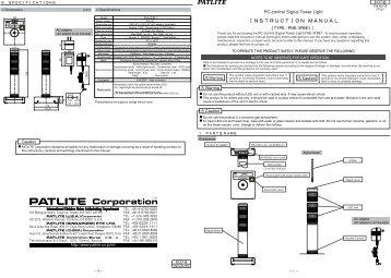 Patlite Signal Tower Wiring Diagram : 35 Wiring Diagram