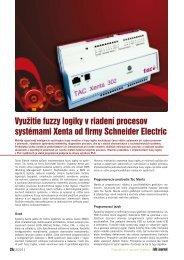 Využitie fuzzy logiky v riadení procesov systémami ... - iDB Journal