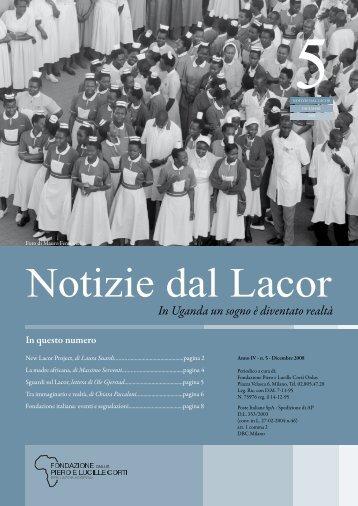 Notizie_dal_Lacor_dic.pdf - Fondazione Corti