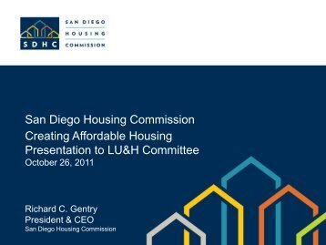 San Diego Housing Commission Creating Affordable Housing ...