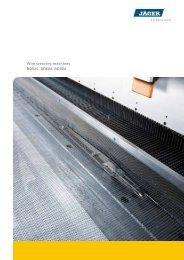 Wire weaving machines BD520, BD600, BD800 - Schlatter