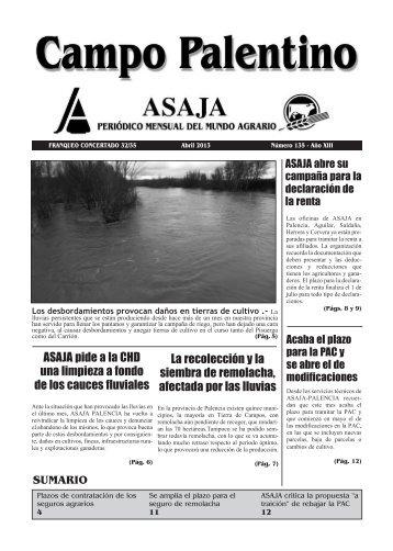 CAMPO PALENTINO mayo 2011.qxd - ASAJA Castilla y León