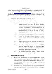 """PRIVACY POLICY Licensed Wholesale Company Limited (""""LWC Ltd ..."""