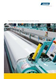 Machines for the production of paper machine clothing - Schlatter
