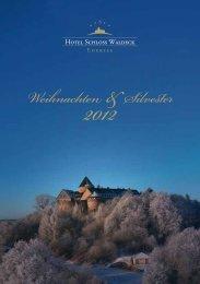 Weihnachten/Silvester 2012 - Hotel Schloss Waldeck am Edersee