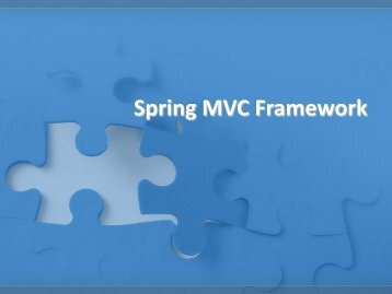 1. Developing a Simple Web Application with Spring MVC Problem