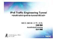 IPv6 - JANOG