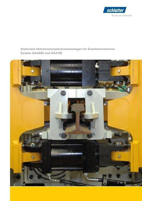 System GAAS80 und GAA100 DE - Schlatter