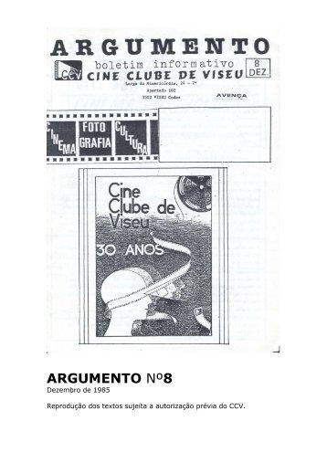 Argumento nº8 - Cine Clube de Viseu