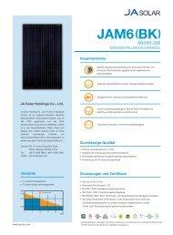 JAM6 (BK) 60 245-265