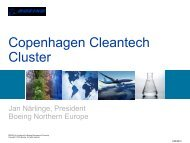 Boeing in Denmark - Copenhagen Cleantech Cluster