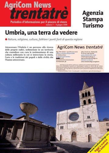 Umbria, una terra da vedere - MEDIASTUDIO Giornalismo ...