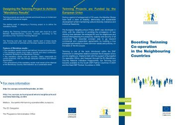 Twinning - European Commission - Europa
