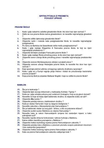 Ispitna pitanja možete preuzeti u pdf formatu