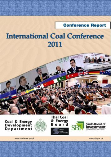 International Coal Conference - 2011 Report - Sindh Board Of ...
