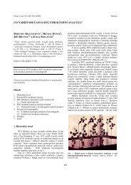 co nabízí současná rtg strukturní analýza? - Chemické listy