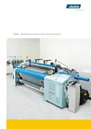 SK560 – Weaving machine for heavy technical fabrics - Schlatter