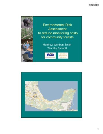 An Environmental Risk Assessment (ERA) approach to reduce the ...