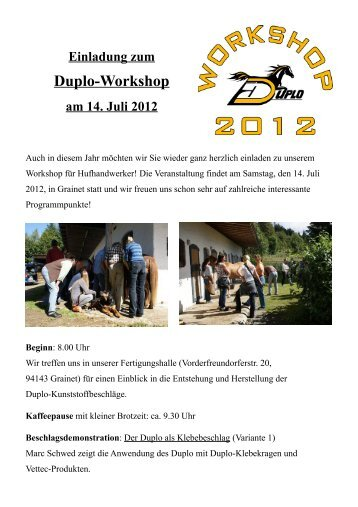 Duplo-Workshop - Duplo - Kunststoffbeschläge
