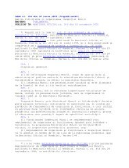LEGEA nr. 108 din 16 iunie 1999 - ITM Sibiu