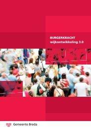 BURGERKRACHT wijkontwikkeling 3.0 - Gemeente Breda