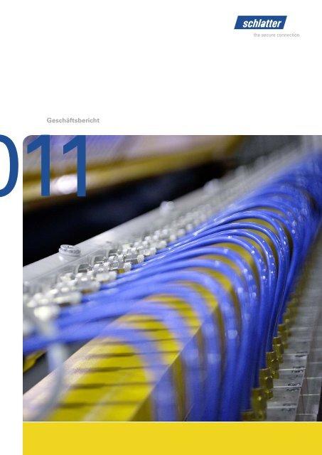 Geschäftsbericht 2011 - Schlatter