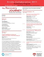 The Recovery Journey - Heart and Stroke Foundation of Ontario
