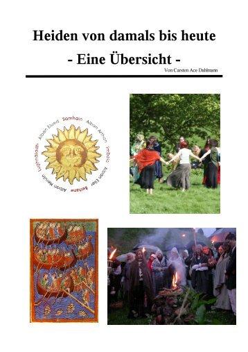 Heiden von damals bis heute - Eine Übersicht - Eglatholion.de