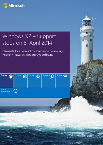 Windows XP – Support stops on 8. April 2014 - TechNet Blogs