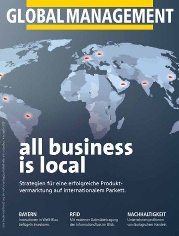 Global denken, lokal handeln - SCHEMA GmbH