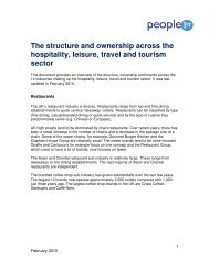 The structure and ownership across the hospitality ... - Event Hub
