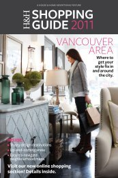 VANCOUVER AREA - House & Home