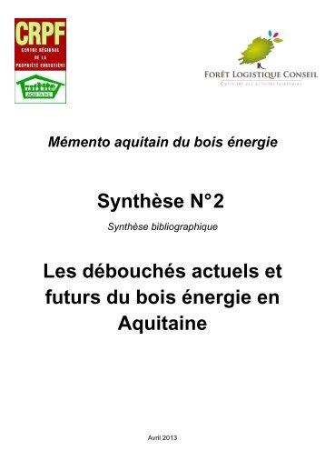 Synthèse n°2 - Le Centre Régional de Propriété Forestière (CRPF)