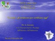 ICD-10: struttura - USP di Piacenza