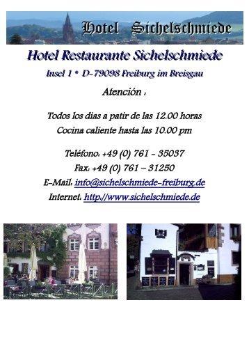Hotel Restaurante Sichelschmiede